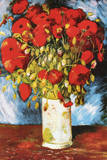 Vincent Van Gogh Poppies Art Print Poster Prints