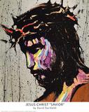 David Garibaldi Jesus Christ Savior Art Print Poster Posters
