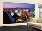 Christopher Gjevre Las Vegas Lights Wall Mural