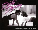 Dirty Dancing Movie Patrick Swayze Dancing Jennifer Grey 80s Poster Print - Reprodüksiyon