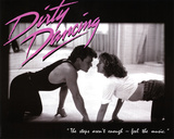 Dirty Dancing Movie Patrick Swayze Dancing Jennifer Grey 80s Poster Print Photo