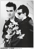 The Smiths (Morrissey & Marr) Music Poster Posters