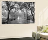 New York City Poet's Walk Central Park by Henri Silberman Mini Mural Huge Poster Art Print Seinämaalaus