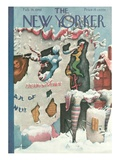 The New Yorker Cover - February 24, 1940 Giclee Print by Christina Malman