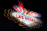 Welcome to Fabulous Las Vegas (Neon Sign) Art Poster Print Prints