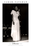 Sarah Vaughan The Divine One Music Poster Print Posters