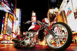 Todd Latimer (Midnight Rider, Motorcycle) Art Poster Print Posters