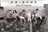 Friends Lunch on Skyscraper over New York TV Poster Print Photo