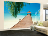 Sakis Papadopolous Paradise Beach Huge Wall Mural Art Print Poster Reproduction murale g&#233;ante