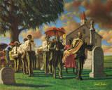Sarah Jenkins (Uncle Joe's Funeral) Art Poster Print Poster