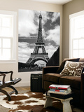 La Tour Eiffel Tower Paris by Henri Silberman Mini Mural Huge Poster Art Print Wall Mural