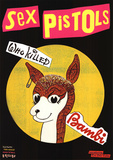 Sex Pistols (Who Killed Bambi) Music Poster Print Photo