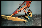 Challenge Windsurfer Motivational Poster Prints