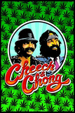 Cheech and Chong Blacklight Poster Print Prints