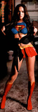 Megan Fox Superfox Supergirl/Superman Movie Door Poster Print Obrazy
