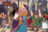 The Hunchback of Notre Dame Movie Disney Poster Print Posters