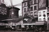 Paris Nightclub 1930 Archival Photo Poster Print Plakát