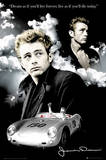 James Dean (Dream, Clouds) Movie Poster Print Print