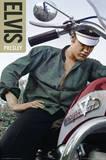 Elvis Presley Color Bike Posters