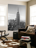 New York City Empire State Building by Henri Silberman Mini Mural Huge Poster Art Print Wallpaper Mural