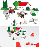 The Farm 24 Wall Stickers Wall Decal
