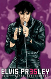 Elvis Presley 35th Anniversary Purple Music Poster Print Prints