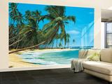South Sea Beach Landscape Huge Wall Mural Art Print Poster Fototapeten