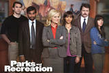 Parks and Recreation Group TV Poster Print Posters