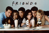 Friends Milkshake TV Poster Print Pôsteres