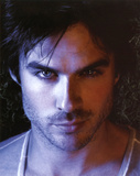 The Vampire Diaries Damon Ian Somerhalder TV Glossy Photo Photograph Print Photo