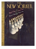 The New Yorker Cover - December 24, 1949 Giclee Print by Christina Malman