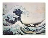 Katsushika Hokusai The Great Wave off Kanagawa 1 Art Print Poster Poster