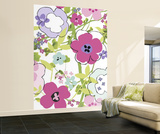 Floral Composition Huge Wall Mural Art Print Poster Wallpaper Mural