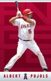 Los Angeles Angels Albert Pujols Sports Poster Print Posters