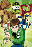 Ben 10 (Alien Force) 3-D TV Poster Print Poster