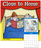 Close to Home   - 2013 12-Month Calendar Calendarios