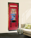 London Telephone Box Giant Mural Poster Wallpaper Mural