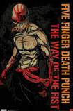 Five Finger Death Punch The Way of the Fist Music Poster Print Print