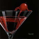 Michael Godard Cherry Cosmo Art Print Poster Posters