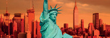 The Statue of Liberty-New York City Print by  Gary718