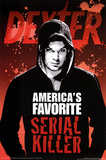 Dexter America's Favorite Serial Killer Blood TV Poster Print Prints
