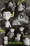 Frankenweenie Grid Movie Poster Print Posters