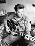Elvis Presley Army Uniform Music Poster Print Photo