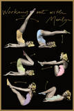 Marilyn Monroe (Working Out) Movie Poster Print Posters