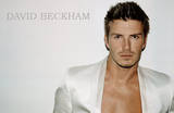 David Beckham (White Jacket) Sports Poster Print Prints