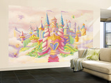 Nicolette Capuano Princess Castle Cinderella Inspired Wallpaper Mural