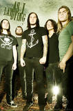 As I Lay Dying Group Music Poster Pring Foto