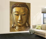 Golden Buddha Huge Wall Mural Art Print Poster Reproduction murale g&#233;ante