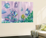 Marcus Pfister The Rainbow Fish II Mini Mural Huge Poster Art Print Wallpaper Mural