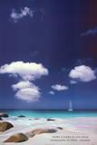 Ocean Reflections Art Print Poster Plakater
